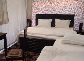 luxury tent for kumbh mela